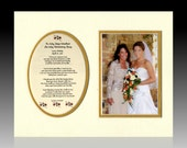 To My Step-mother on My Wedding Day bridal  / wedding  bride  personalized gift