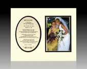To My Aunt On My Wedding Day Personalized Bridal Party Gift favor Bride Photo