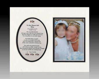 Flower Girl or Ring Bearer Personalized Wedding Bridal Party Gift