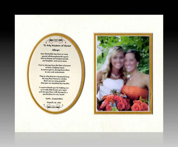 Items Similar To Wedding Personalized Maid Matron Of Honor