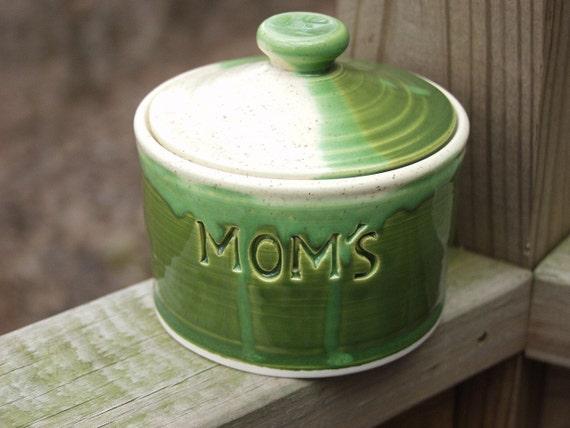 Mom's Treat Jar Foliage Green