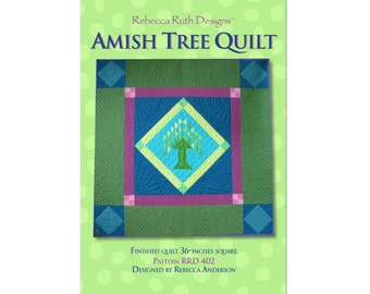 Amish Tree Quilt Sewing Pattern