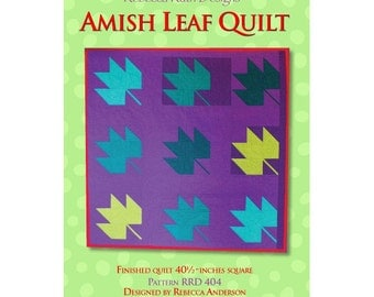 Amish Leaf Quilt Sewing Pattern