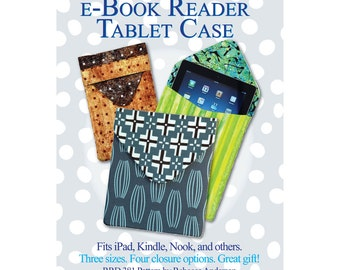 e-Book Reader Tablet Case Sewing Pattern
