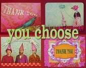 choose your own set of 4 notecards