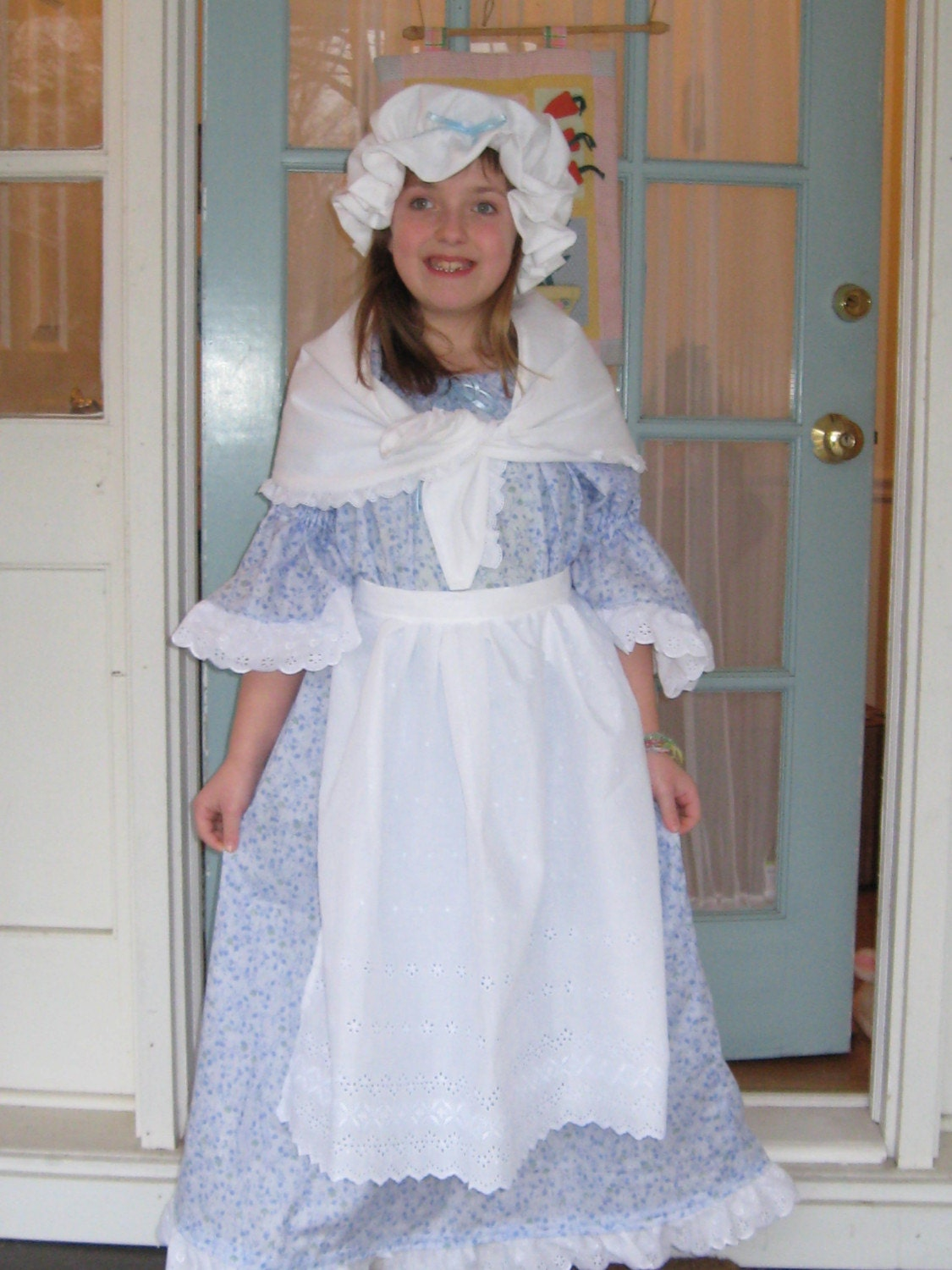 American Girl Colonial Pioneer Felicity Dress Costume