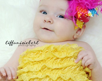 boutique BRIGHT and BOLD over the top hair bow on a headband
