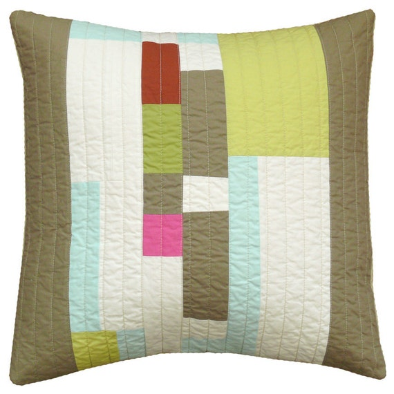 Modern Pillow Covers Etsy : Modern throw pillow This & That