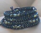 LUXE Luu - 4x Wrap Bracelet - Celtic Twist - VEGAN Friendly