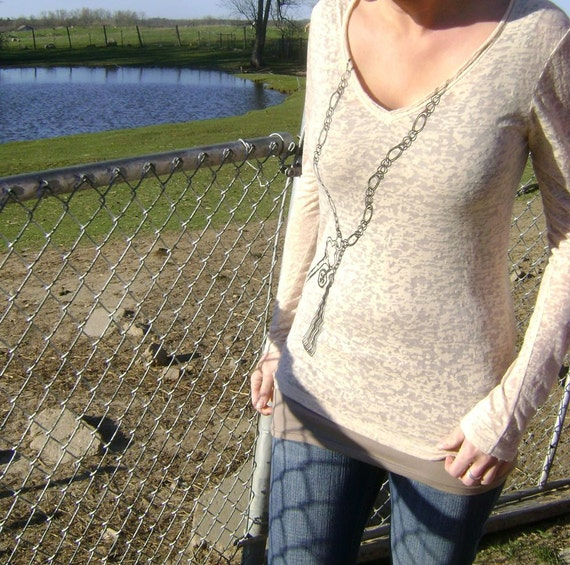 New - XS, S, M, L, XL, XXL - Already Accessorized Tee in Nude