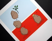 Spudtacular-Signed Archival Print of Original Illustration
