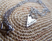 Show My Love- Silver Heart Necklace (With Gift Box)