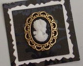 Hand Made Inchie - Vintage Cameo Embellishment