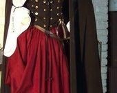 Pirate Wench Renaissance corset custom costume dress gown
