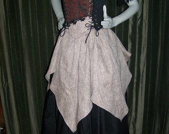 Renaissance pirate vampire Dracula Wench costume Dress Gown size custom