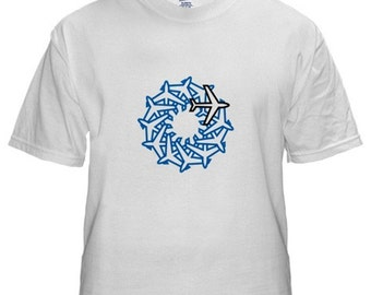 AIRPLANES T-shirt - On Sale - Abstract Art