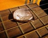 """Guitar Pick """"Maine Quarter"""""""