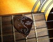 "Guitar Pick ""Wyoming Quarter"""