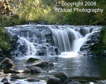 Sweet Creek Waterfalls Photograph