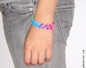 custom starburst wrapper bracelet