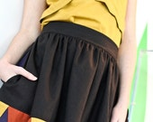 Geometric dirndl skirt