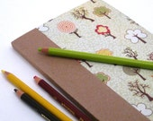 SALE Cahier Journal    Tiny Trees