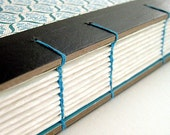 Upcycled Journal Blue Lotus