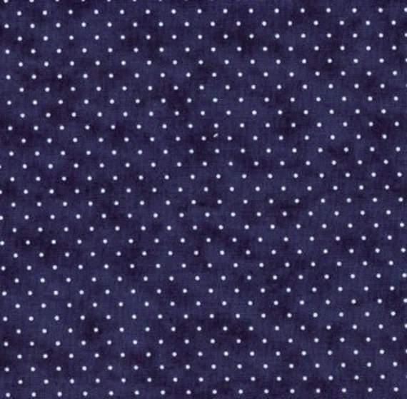 Essential Dots Liberty Blue 8654-39 -Patchwork & Quilting Fabric