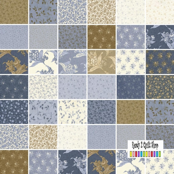 Blueberry Crumb Cake Fabric