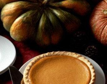 Award Winning Bailey's Pumpkin Pie