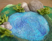Delightful Felted Playscape Made to order