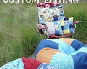 Custom Bean Bag chair Using YOUR Fabric you send me