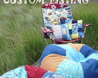 Custom Bean Bag chair Using YOUR Fabric you send me