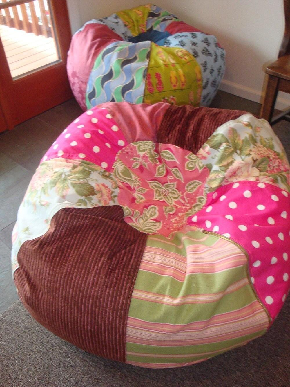 Cottage Chic Bean Bag Chair