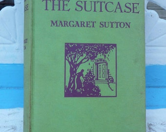 The Voice in the Suitcase - Vintage Judy Bolton Mystery Hardcover by Margaret Sutton