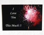 Photo Magnet - I love you this much