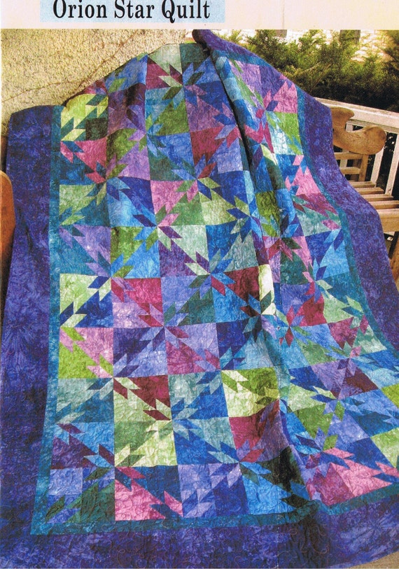 Orion Star Quilt Kit W Hand Dyes