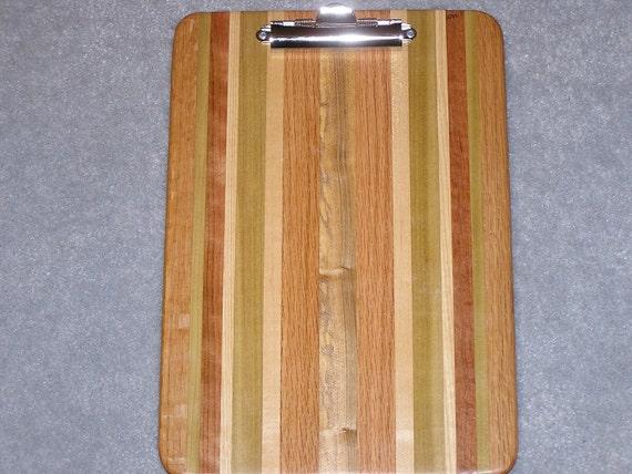 Standard Size Wood Clipboard