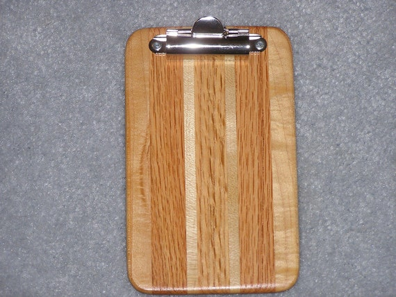 Mini Clipboard - Hardwood