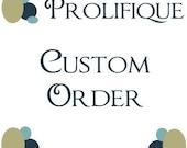 Custom Listing for  HaelynKim
