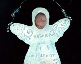 Personalized Photo ANGEL Ornament
