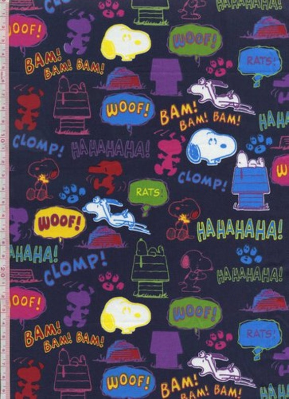 Snoopy 2012 1/2 Yard