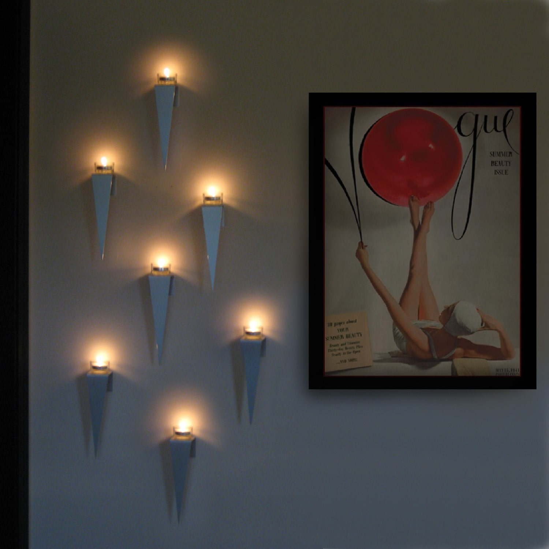 Candle Wall Art tea light wall sconce
