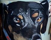 Tattoo Ceramic Cat treat Cannister German Shepherd COOKIE JAR custom ANY breed large