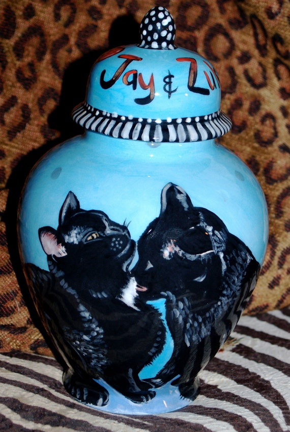 Custom medium PET URN for dogs and cats SMALL multiple small pet urn made to order