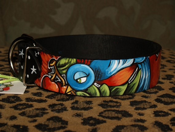 leather collar 1x and 2 xl sparrow nautical 2