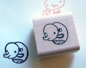 the sneak - rubber stamp