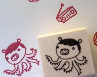 brutus - rubber stamp