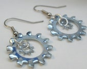 Hardware Earrings -  Lock on Tight Mama and Baby