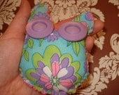 Funny Eyed Little Owl Plush